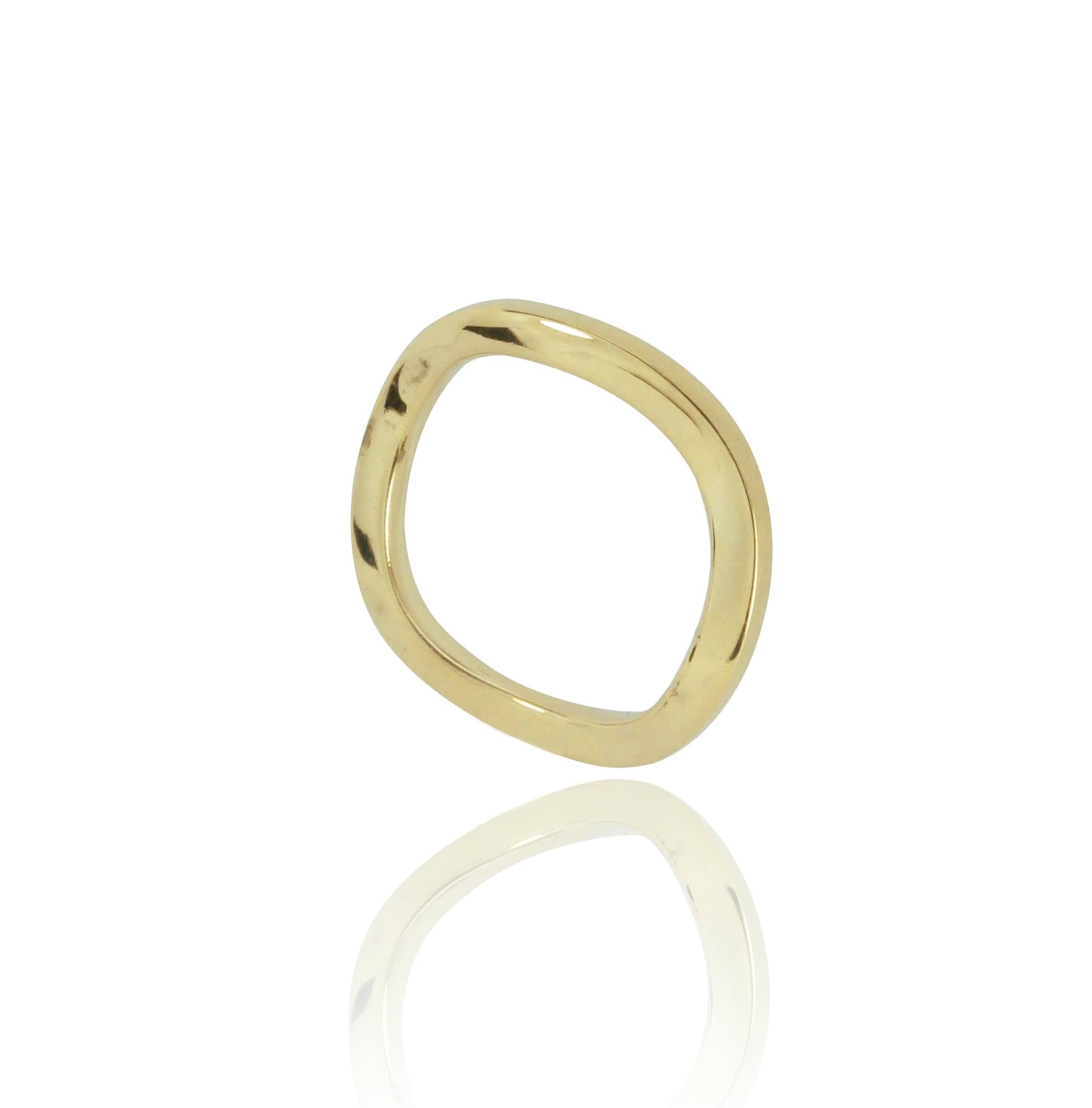 טבעת נישואים 18 קרט