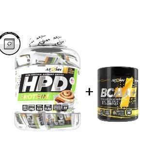 חבילת סופר אטום+|HPD+BCAA במחיר מוזל