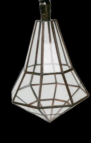 אהיל זכוכית שקופה