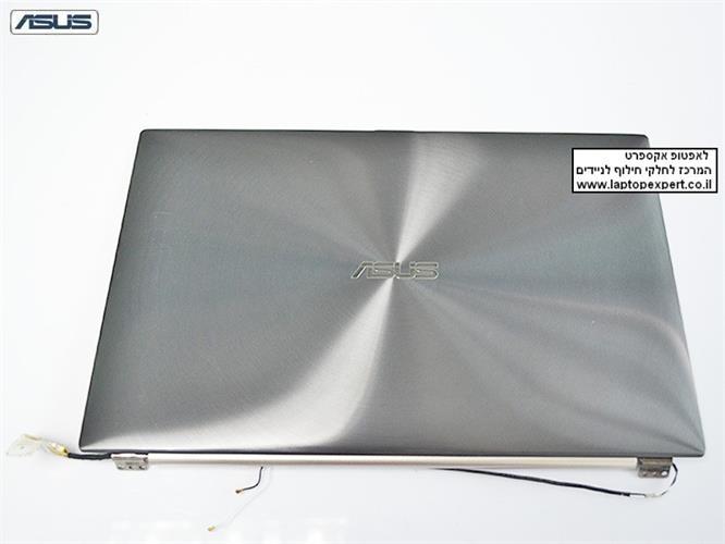 קיט מסך להחלפה כולל גב מסך , מסגרת מסך , ציריות וכבל מסך למחשב נייד אסוס Asus Zenbook UX21 UX21E LED LCD 11.6