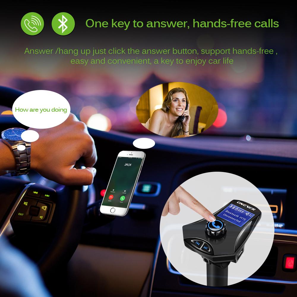 משדר לרכב עם דיבורית