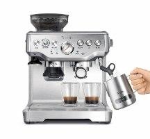 מכונת קפה ברוויל עם מטחנה BREVILLE BES875