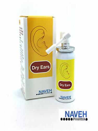 dry ears  תרסיס לייבוש האוזן לאחר רחצה/שחיה 30 מל