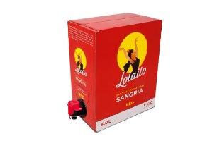 סנגריה לוליילו אדומה | 3 ליטר