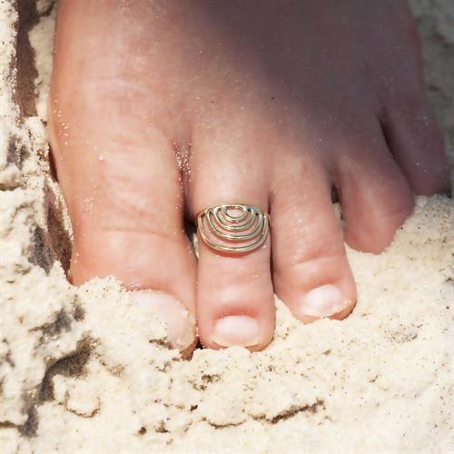 טבעת רגל מנאקה בראס