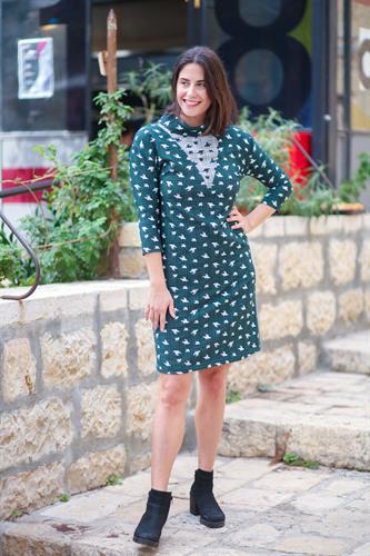 שמלת אירוס ירוקה