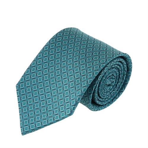 עניבה דגם מסגרות טורקיז