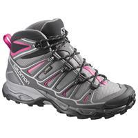 נעלי הרים סלומון X ULTRA MID 2 GTX נשים אפור ורוד