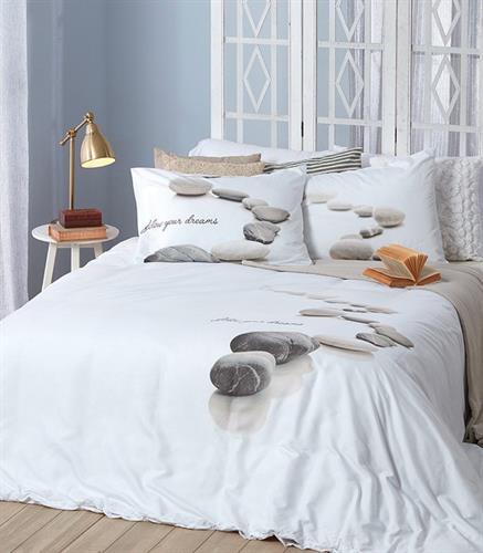 סט מלא מיטה וחצי דגם דומינו