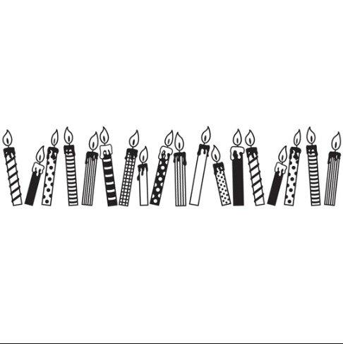 חותמת מתגלגלת - נרות