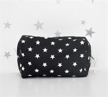 תיק חיתולים כוכבים שחור