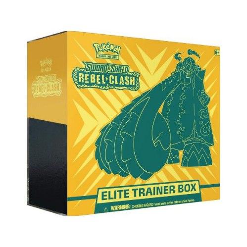 פוקימון מארז קלפים -  Rebel Clash Elite trainer Box