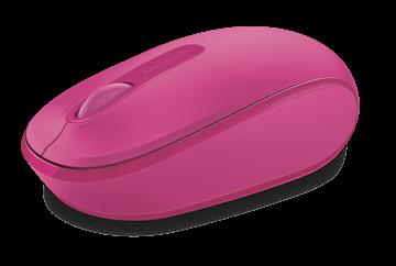 עכבר אלחוטי Microsoft Wireless Mobile Mouse 1850 מיקרוסופט - ורוד Magenta