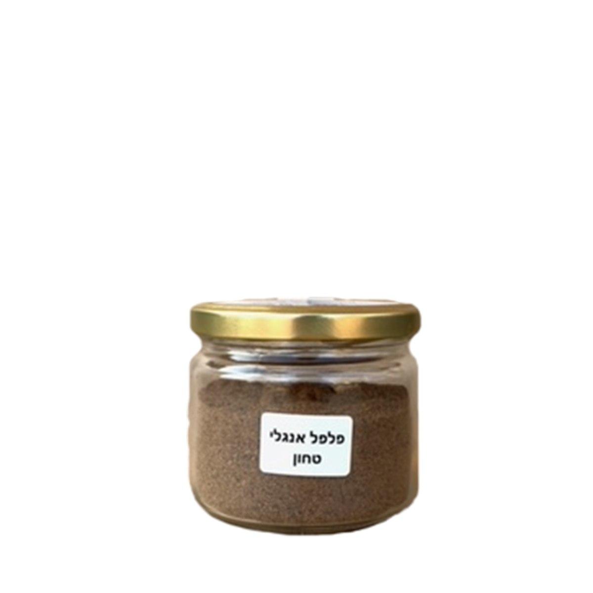 צנצנת פלפל אנגלי טחון 100 גרם