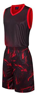תלבושת כדורסל בעיצוב אישי Black2 דגם #6011