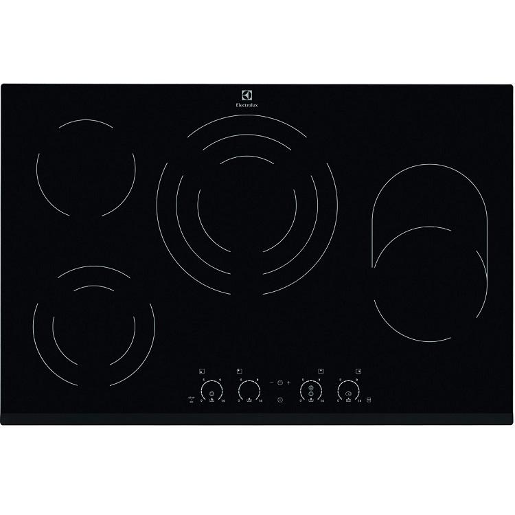 """כיריים קרמיות 80 ס""""מ Electrolux דגם EHF8748FOK"""