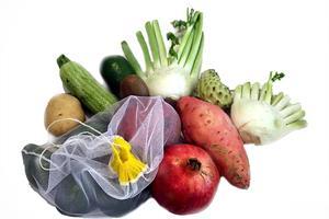 מארזי 3/5 שקיות נושמות קלות משקל לירקות ולפירות - סופרשק