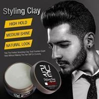 חימר עיצובי לשיער למראה טבעי וללא ברק