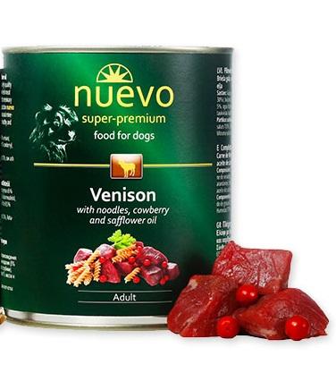 Nuevo מעדן פטה ארוחת בשר צבי אדום 800 גרם