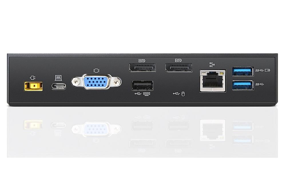 תחנת עגינה Lenovo ThinkPad USB-C Dock 40A90090IS