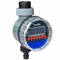 טיימר השקיה אלקטרוני לגינה צג LCD ברז כדור דגם  21026