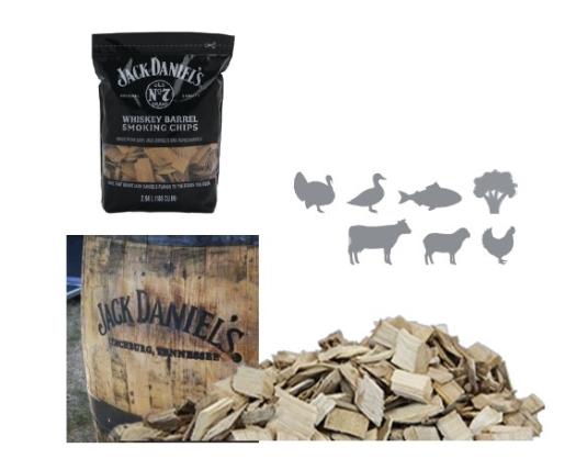 שבבי עץ לעישון בשר - ג'ק דניאלס