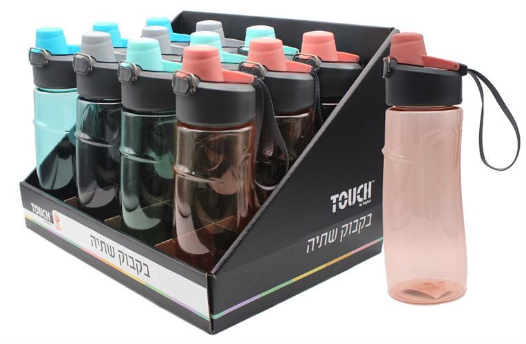 טאץ בקבוק פלסטיק פיה עגולה