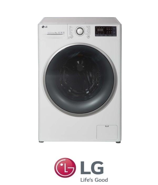 """מכונת כביסה פתח קידמי LG F0812WW 8 ק""""ג"""