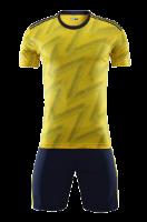חליפת כדורגל צהוב