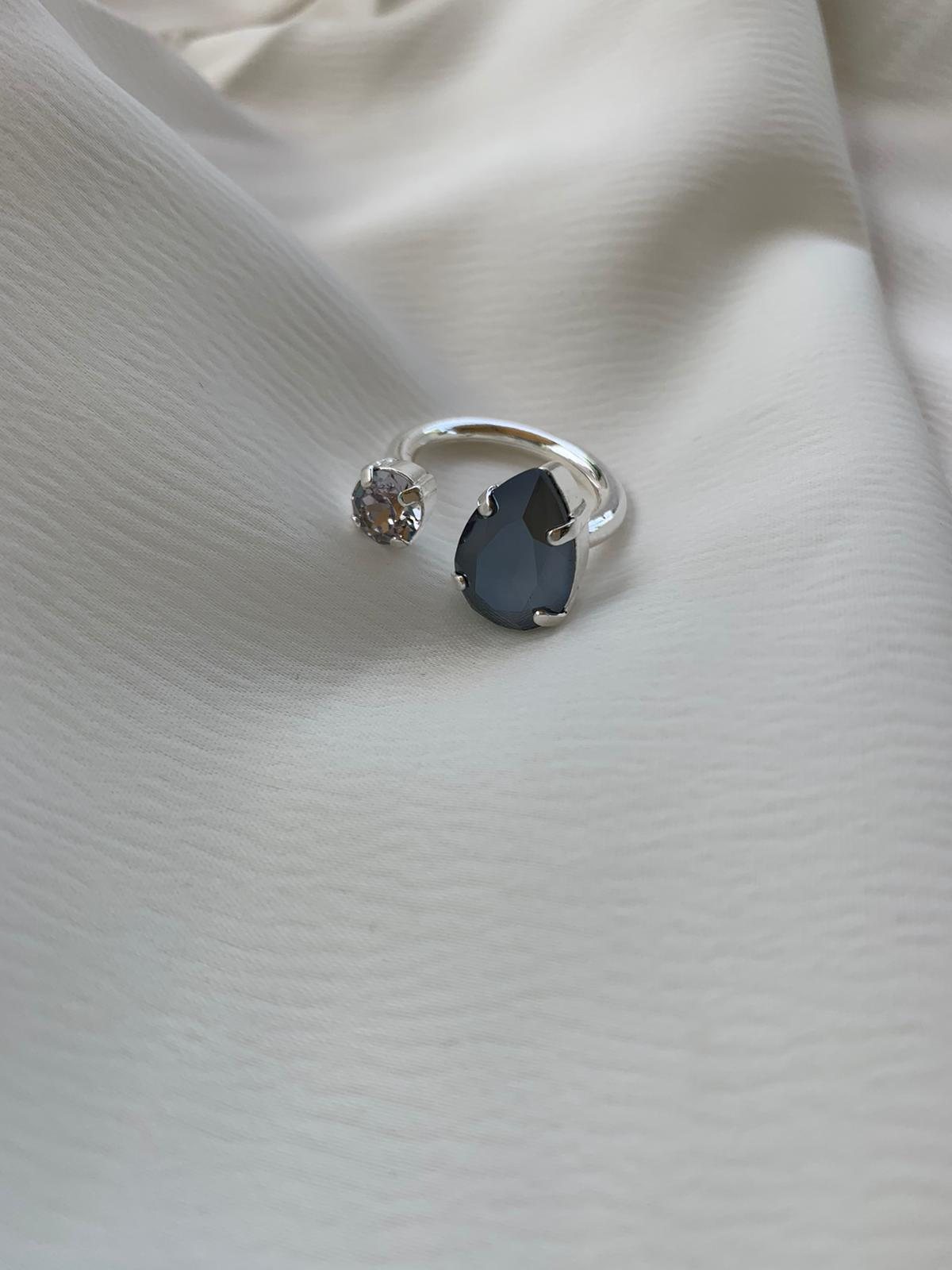 טבעת קייט כסף
