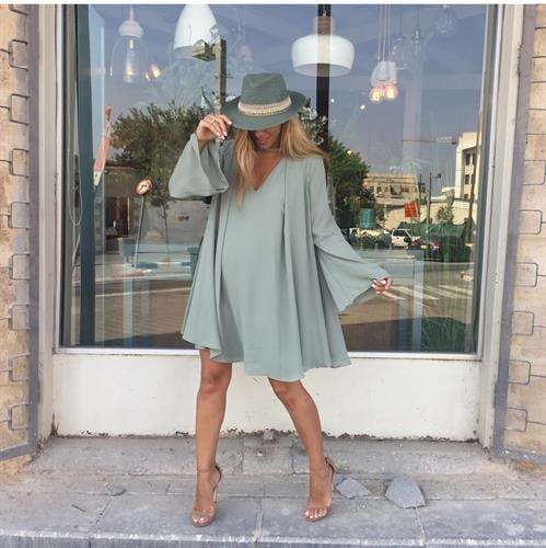 שמלת גסיקה ירוק