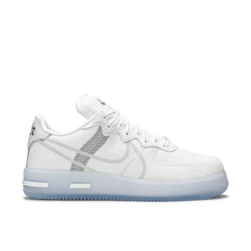 Nike Air Force 1 React qs White Ice