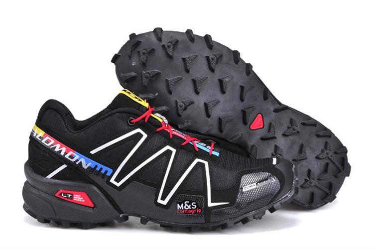 נעלי ריצה Salomon Speed Cross III לנשים שחור צבעוני מידות 36-41