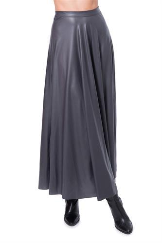 חצאית סקרלט אפורה