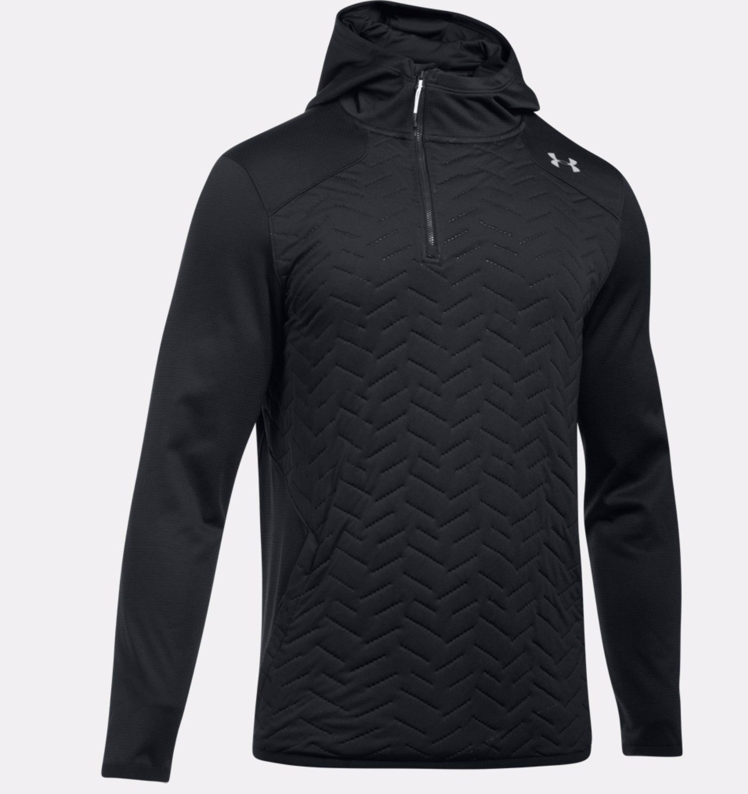 קפוצ'ון אנדר ארמור 1299169-001  Under Armour Men's ColdGear® Reactor Fleece Insulated ¼ Zip