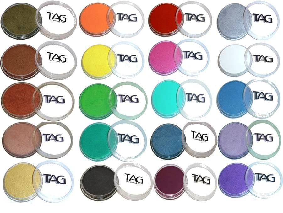 צבעי פנינה בגוונים שונים pearl colors TAG-PAINT 32gr
