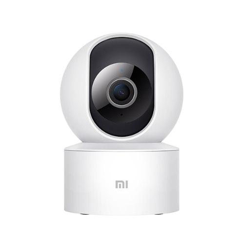 מצלמת אבטחה מתכווננת Xiaomi Mi 360° Camera 1080p IP בצבע לבן אחריות היבואן הרשמי המילטון