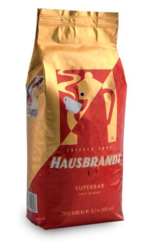 """פולי קפה האוסברנדט סופר בר 1 ק""""ג Hausbrandt SUPERBAR"""