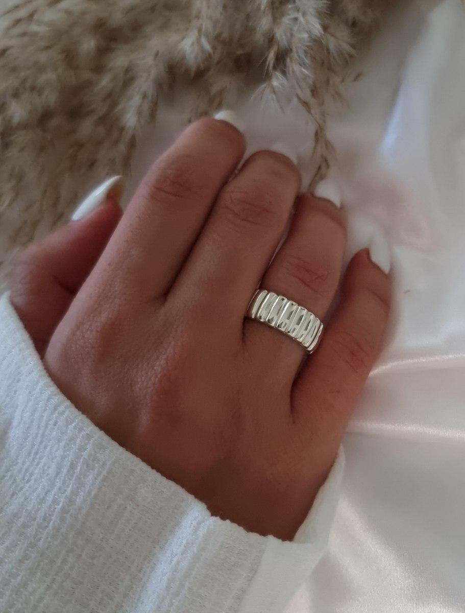 טבעת כסף נילי