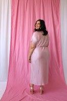 שמלת מיה פליסה PINK