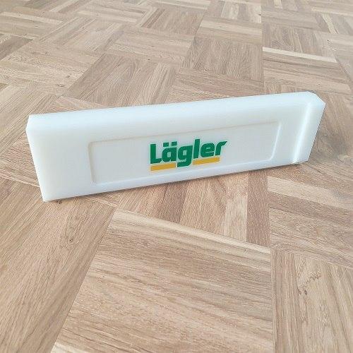 לוח דפיקה מקצועי להתקנת פרקט של חברת LAGLER