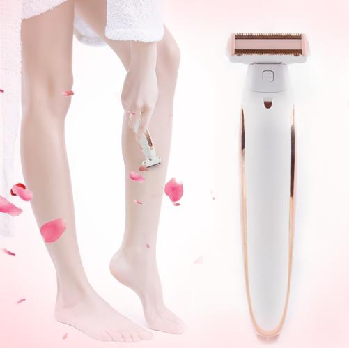 סכין גילוח חשמלי ללא צורך במים וסבון