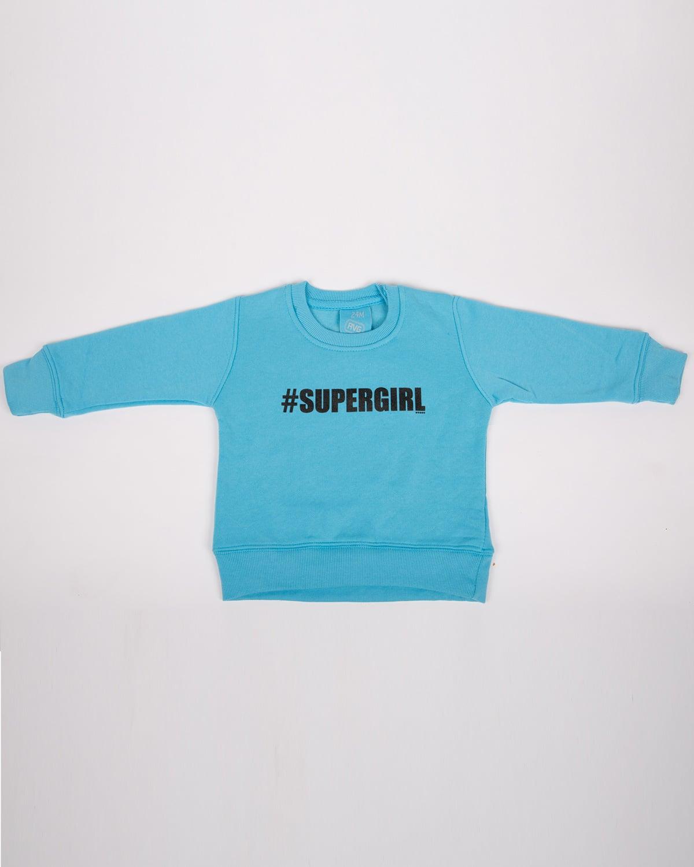 סווטשרט כחול Supergirl