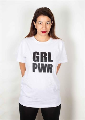 טי שירט יוניסקס GRL PWR