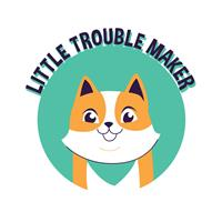 בגד גוף לתינוק Little Trouble Maker