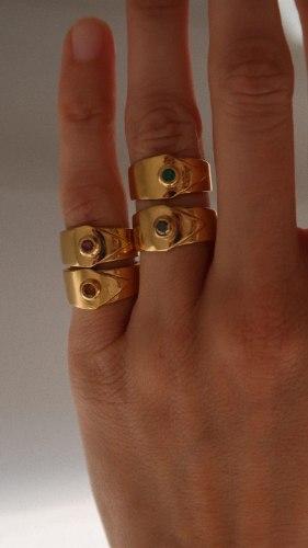טבעת פרנסיס זהב