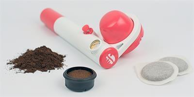 מכונת אספרסו היברידית פמפ פופ  handpresso