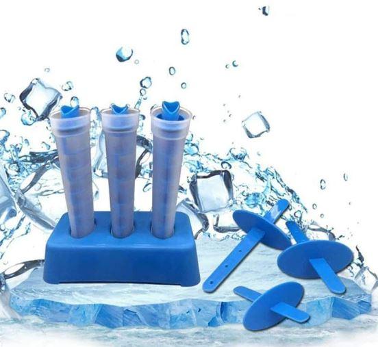 2ב1 מגשי קרח חדשניים משולבים עםארטיקים