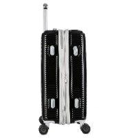 סט 3 מזוודות של המותג האוסטרלי Courier - צבע שחור