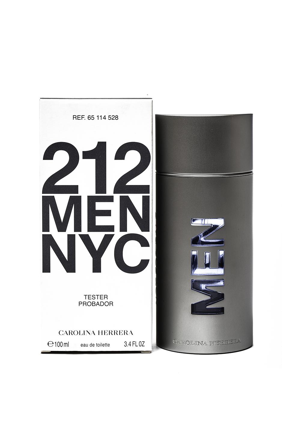 CarolinaHerrera212 men NYC 100ml Tester קרולינה הררה 212 ניו יורק סיטי לגבר 100מל טסטר